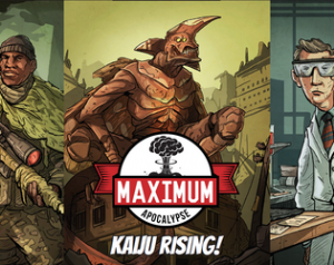 Maximum Apocalypse : Kaiju Rising Expansion